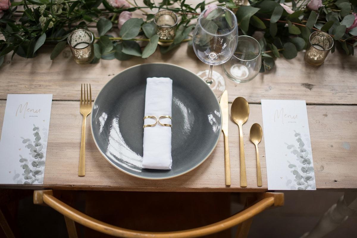 Bruiloft met goud