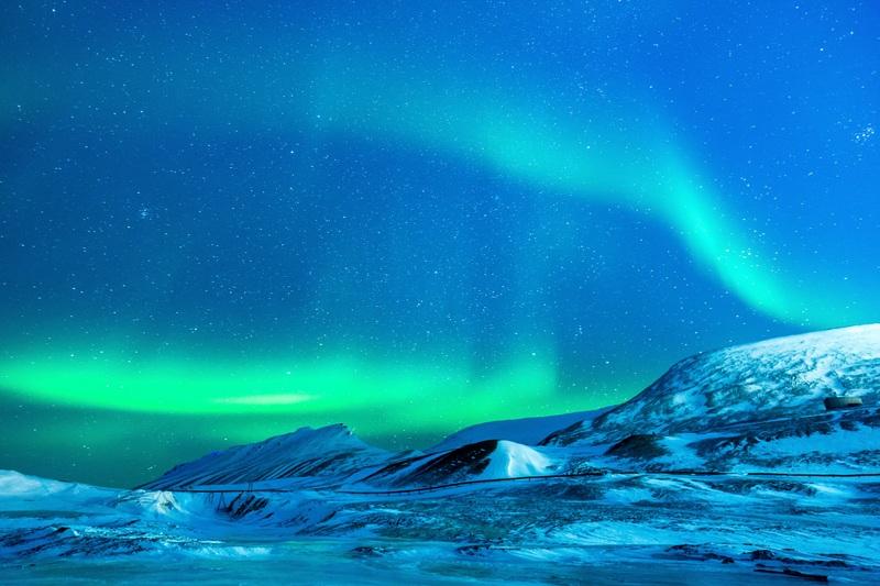 Witte kerst en noorderlicht in Alaska