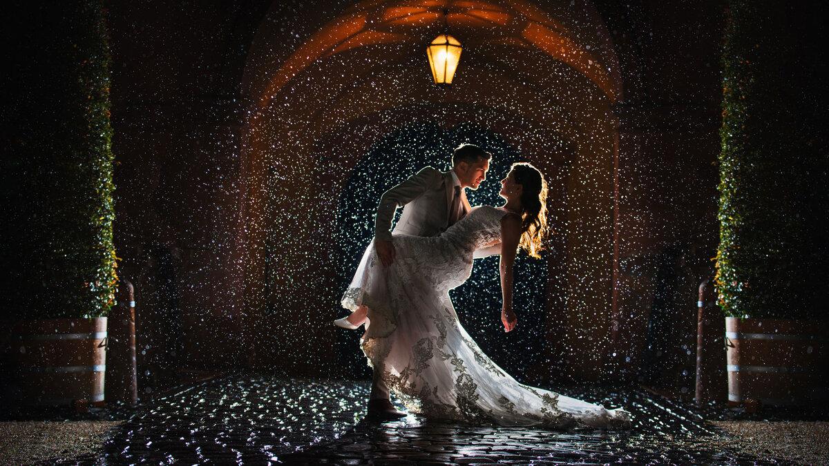 bruiloft slecht weer