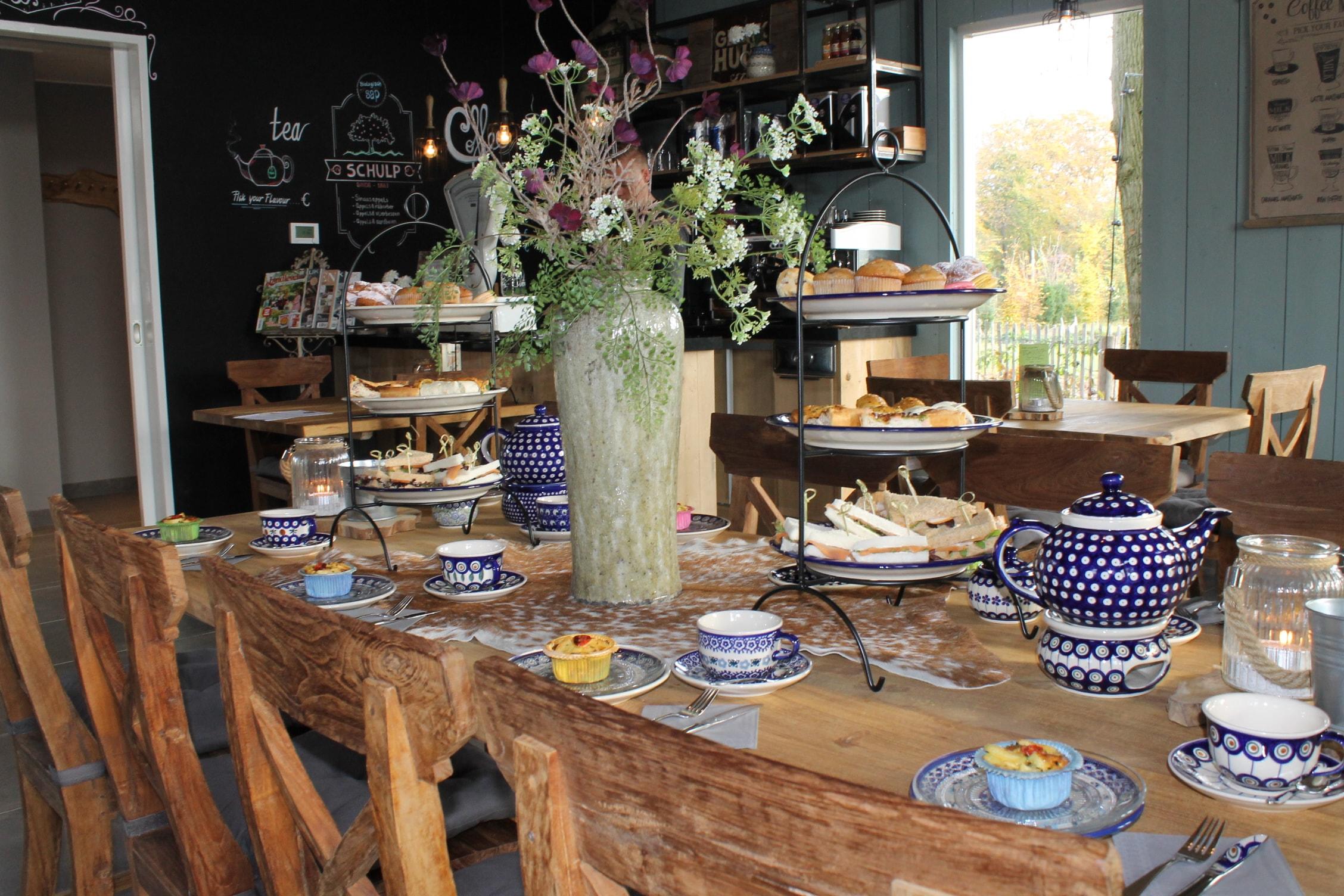 High tea restaurant Gebakhuus in Gelderland