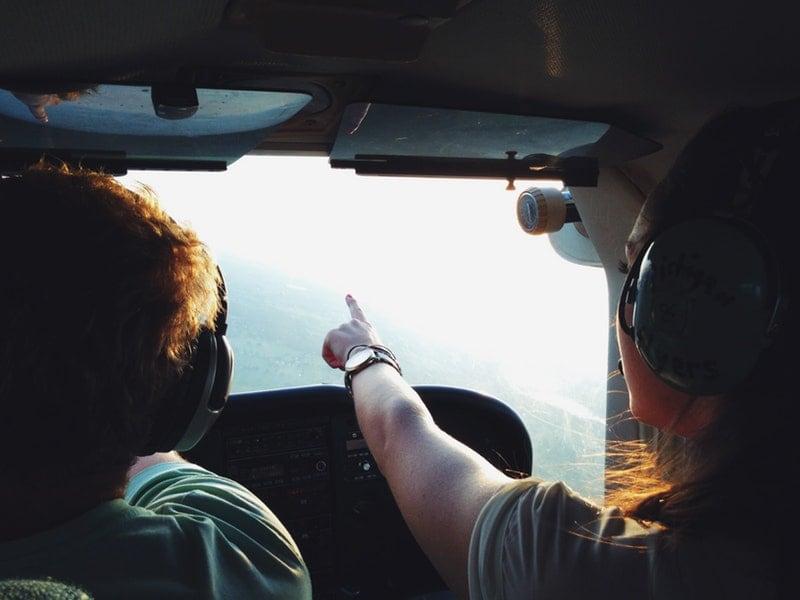 25 jaar getrouwd cadeau: helikoptervlucht