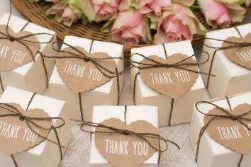Bedankjes bruiloft zelf maken