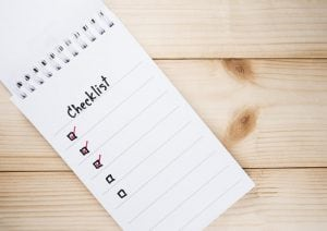 Checklist voor je feest
