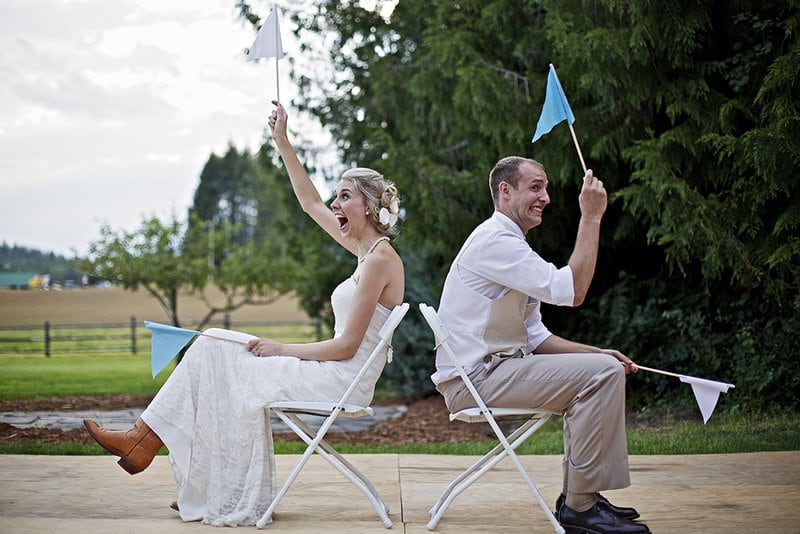 12,5 jaar getrouwd stukje, filmpje of sketch: Huwelijksjubileum spel
