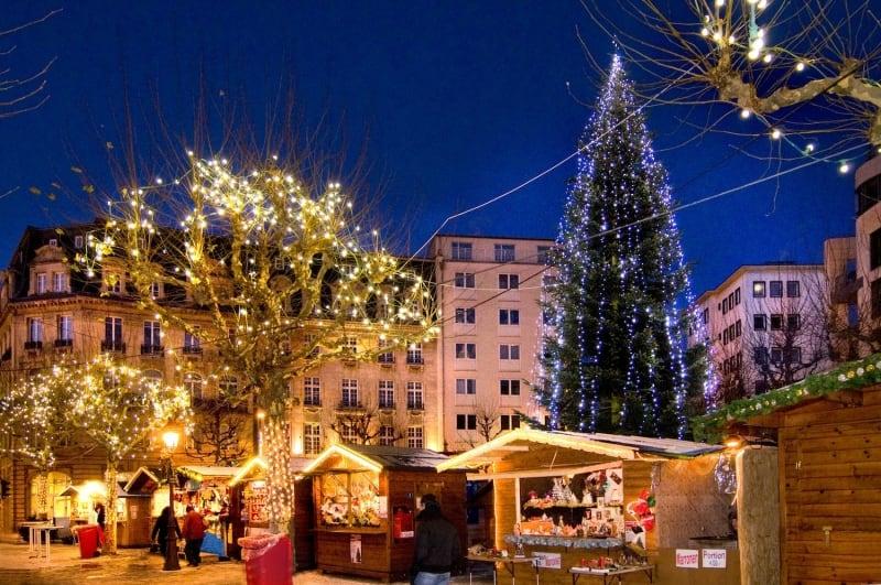 Kerstmarkt in de vakantie