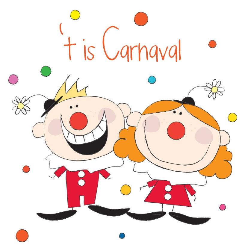 Carnavalskaarten - Het is Carnaval