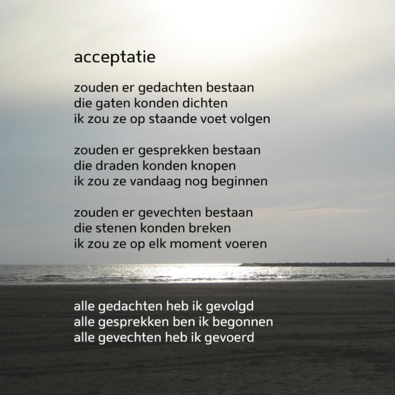 Coachingskaarten - Acceptatie - gedichtenbeeld