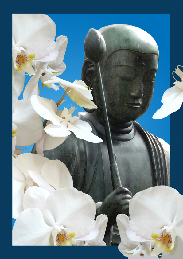 Coachingskaarten - Coaching orchidee Boeddha