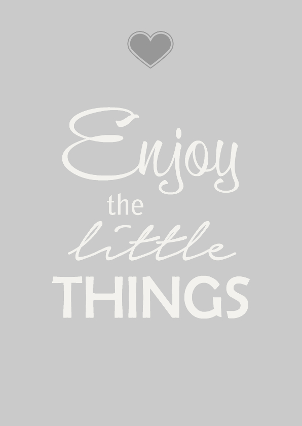 Coachingskaarten - Enjoy things