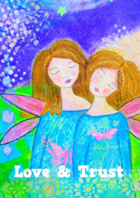 Coachingskaarten - Love and Trust - Angels