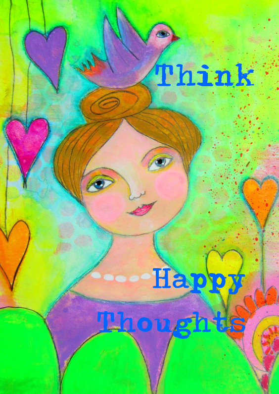 Coachingskaarten - Think Happy Thoughts