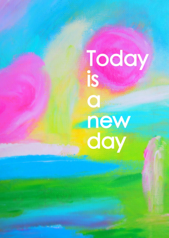 Coachingskaarten - Today is a new day
