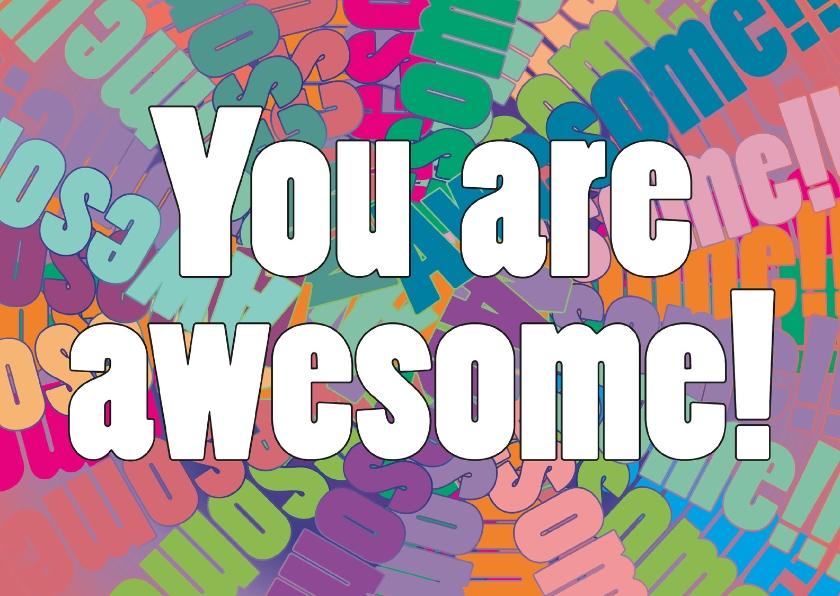 Coachingskaarten - You are awesome