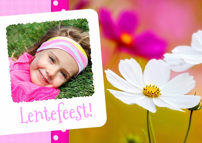 Communiekaarten - Bloemenkaart Lentefeest - BK