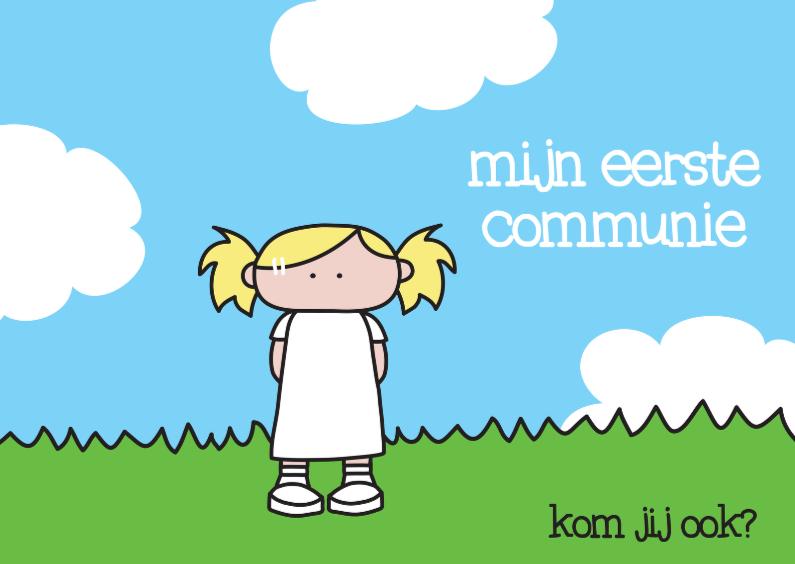 Communiekaarten - Communie Eerste Meisje