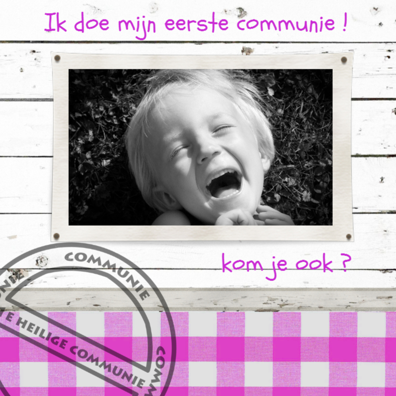 Communiekaarten - communie-made4you