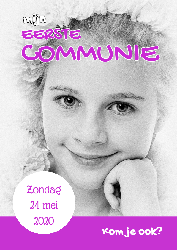 Communiekaarten - Communiekaart Cover Magazine 2