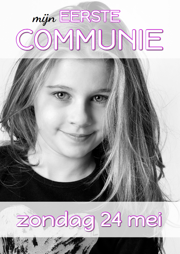 Communiekaarten - Communiekaart Cover Magazine 5