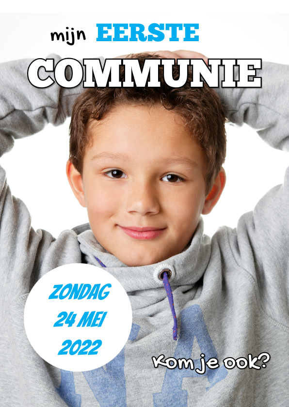 Communiekaarten - Communiekaart Cover Magazine OT