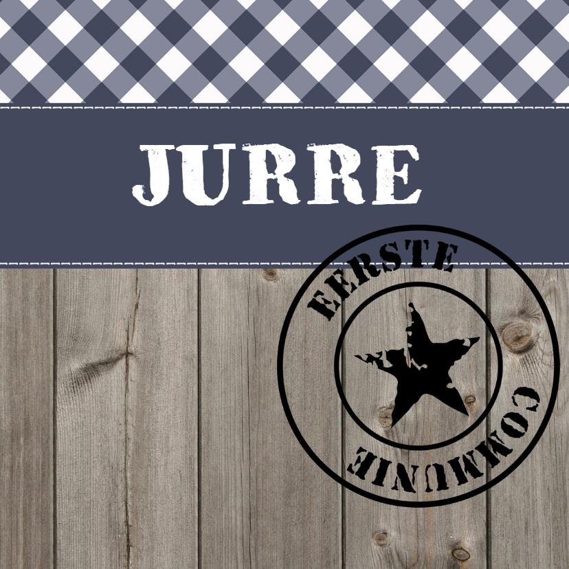 Communiekaarten - Communiekaart Jurre LS