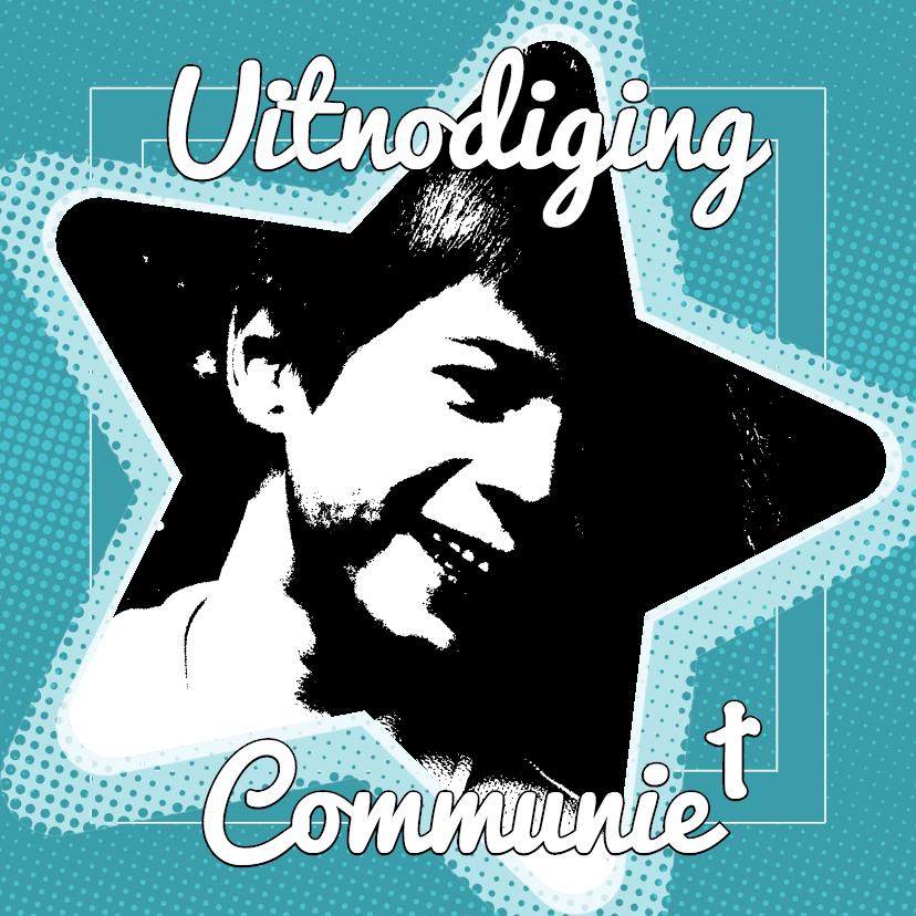 Communiekaarten - Communiekaart ster - BK
