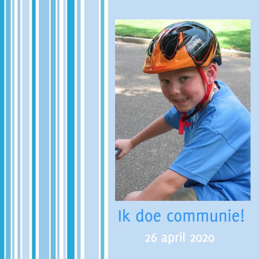 Communiekaarten - Communiekaart voor eerste communie