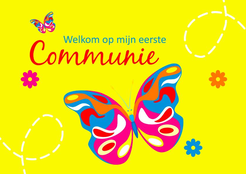 Communiekaarten - Welkom op mijn eerste communie 2