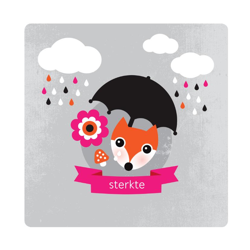 Condoleancekaarten - Baby meisje kind condoleance