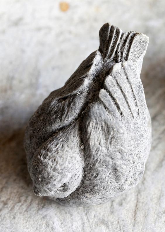 Condoleancekaarten - Birdy - Vogeltje van Beton