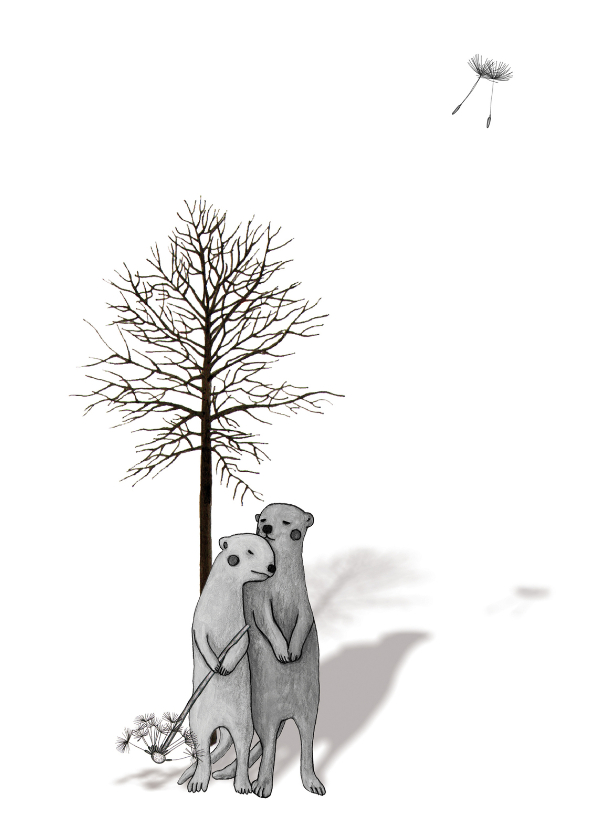 Condoleancekaarten - condoleance-veel sterkte-kk