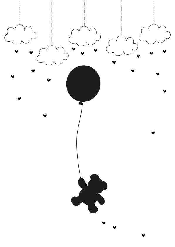Condoleancekaarten - Condoleancekaart Beertje Mint