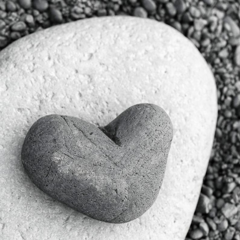 Citaten Hart Van Steen : Condoleancekaart hart steen condoleancekaarten