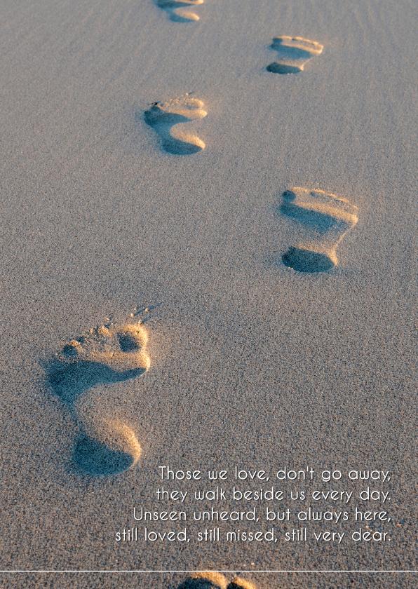 condoleancekaart in het engels | kaartje2go