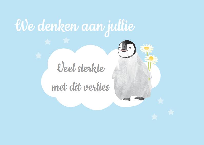 Condoleancekaarten - Condoleancekaart kind