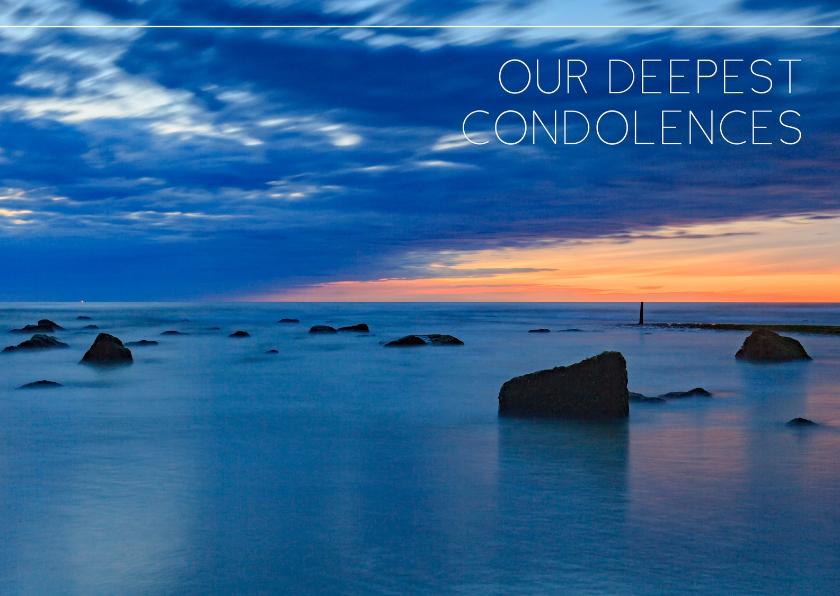 engelstalige condoleancekaart | kaartje2go