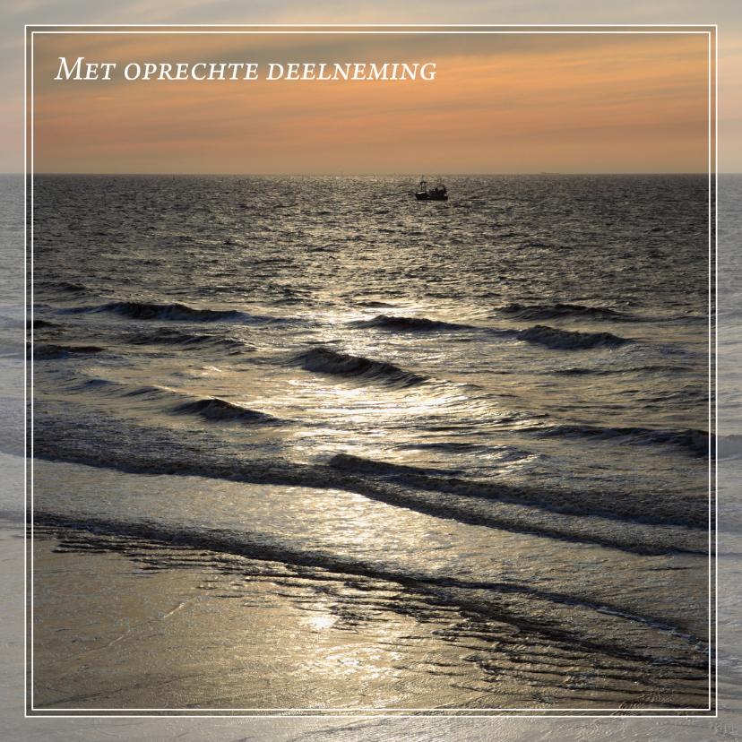 Condoleancekaarten - Gecondoleerd XVIII