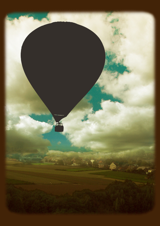 Condoleancekaarten - Luchtballon2