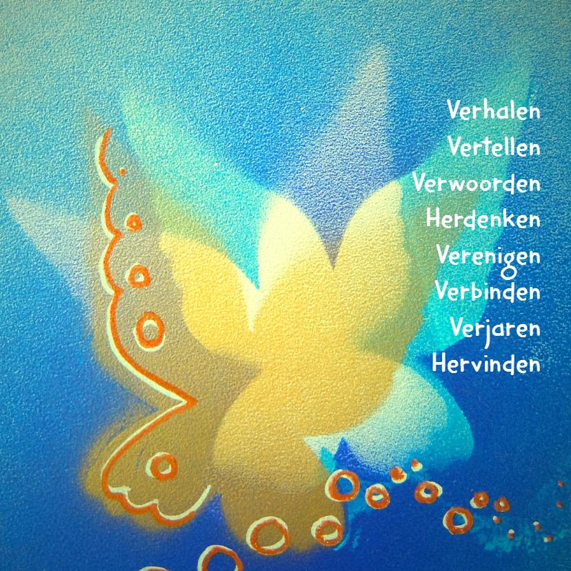Condoleancekaarten - Verhalen vertellen Vlinder - AW