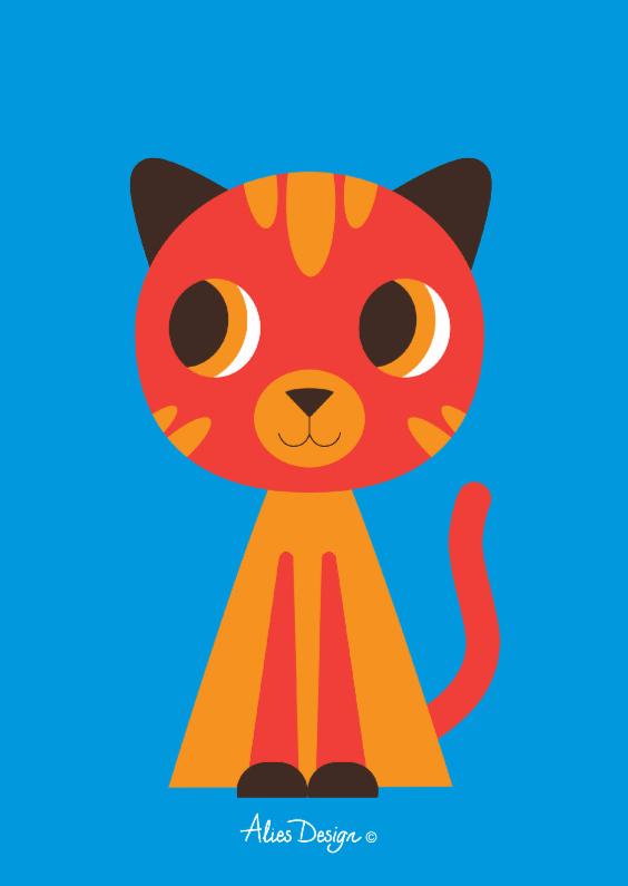 Dierenkaarten - ANIMALS-cat