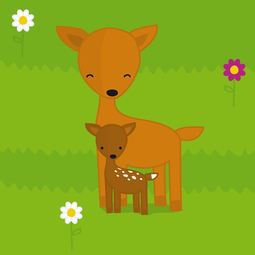 Dierenkaarten - Dieren - Hert