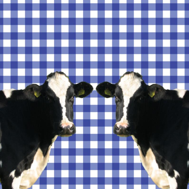 Dierenkaarten - Hollandse koeien