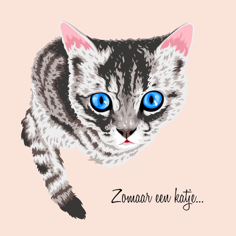 Dierenkaarten - Lieve dierenkaart kat