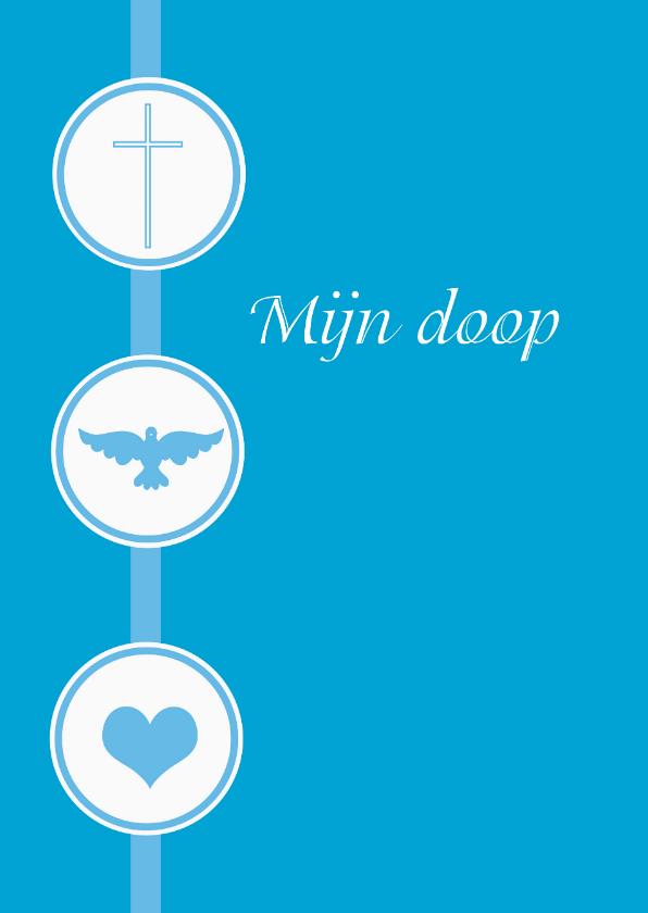Doopkaarten - Ansichtkaart doopuitnodiging