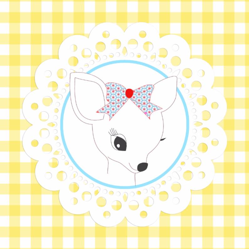 Felicitatiekaarten - Baby Deer