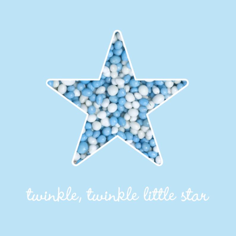 Felicitatiekaarten - Blue Twinkle