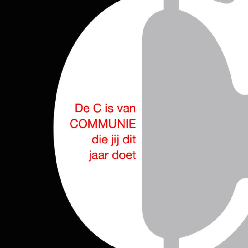 Felicitatiekaarten - De C van Communie