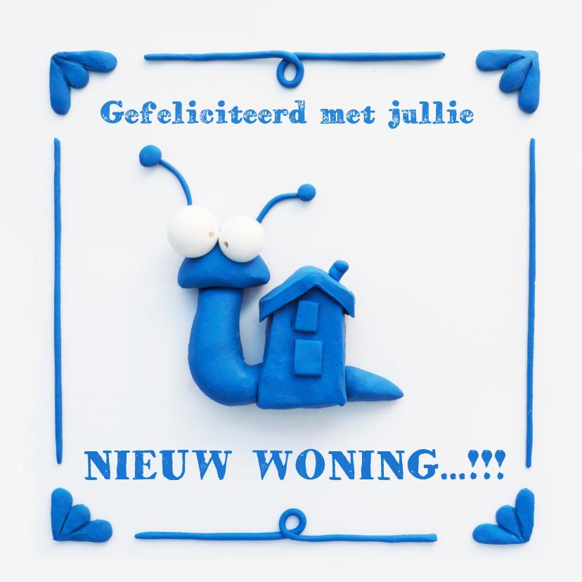 Felicitatiekaarten - Delfts Blauwe Slakkenwoning