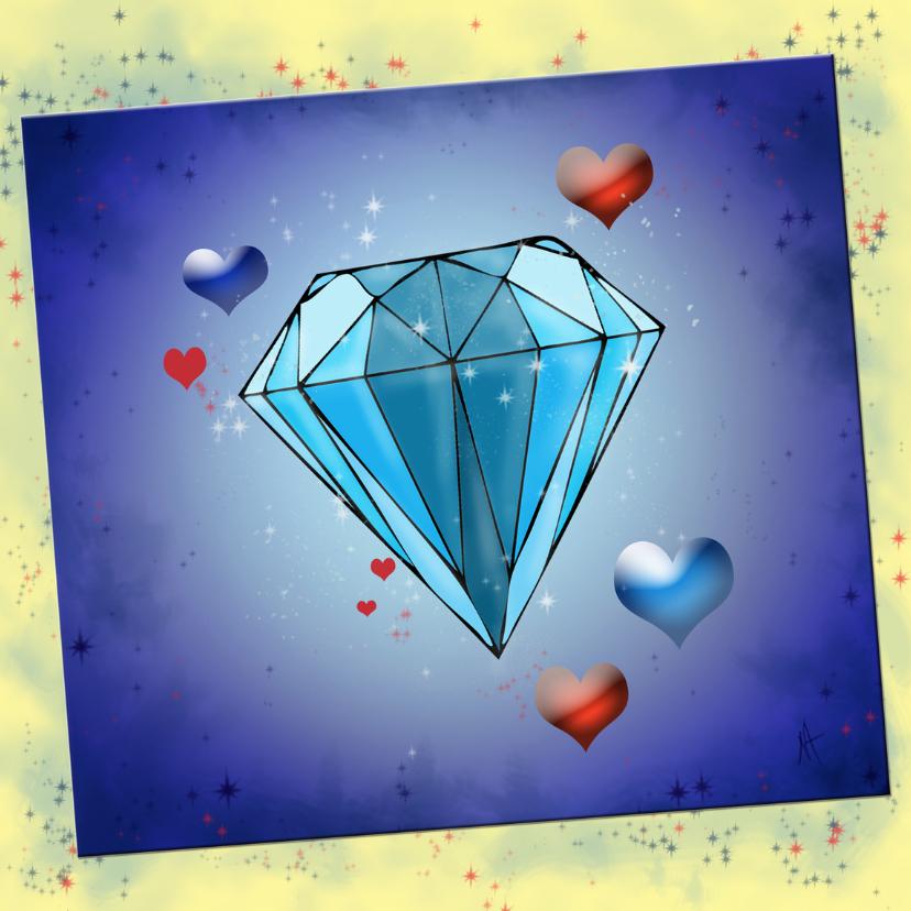 Felicitatiekaarten - Diamantenhuwelijk NA