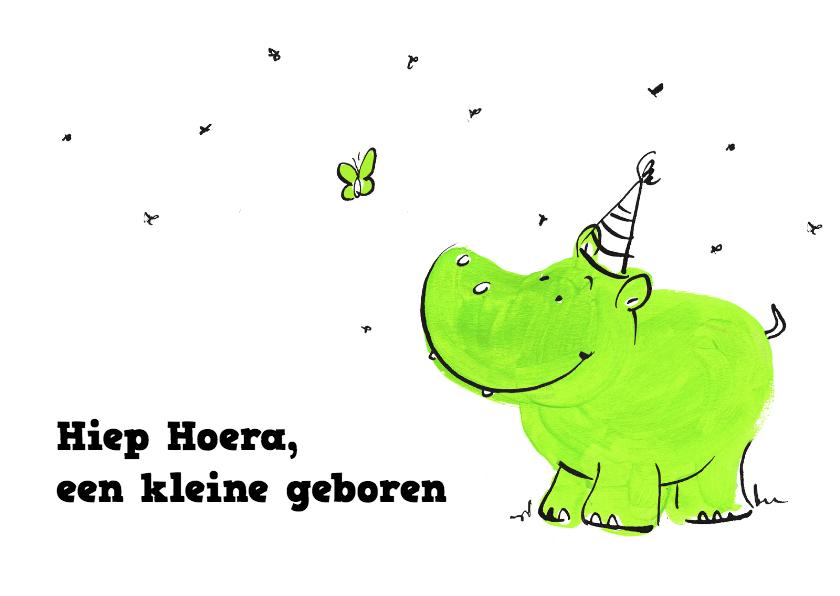 Een kleine geboren groen 1