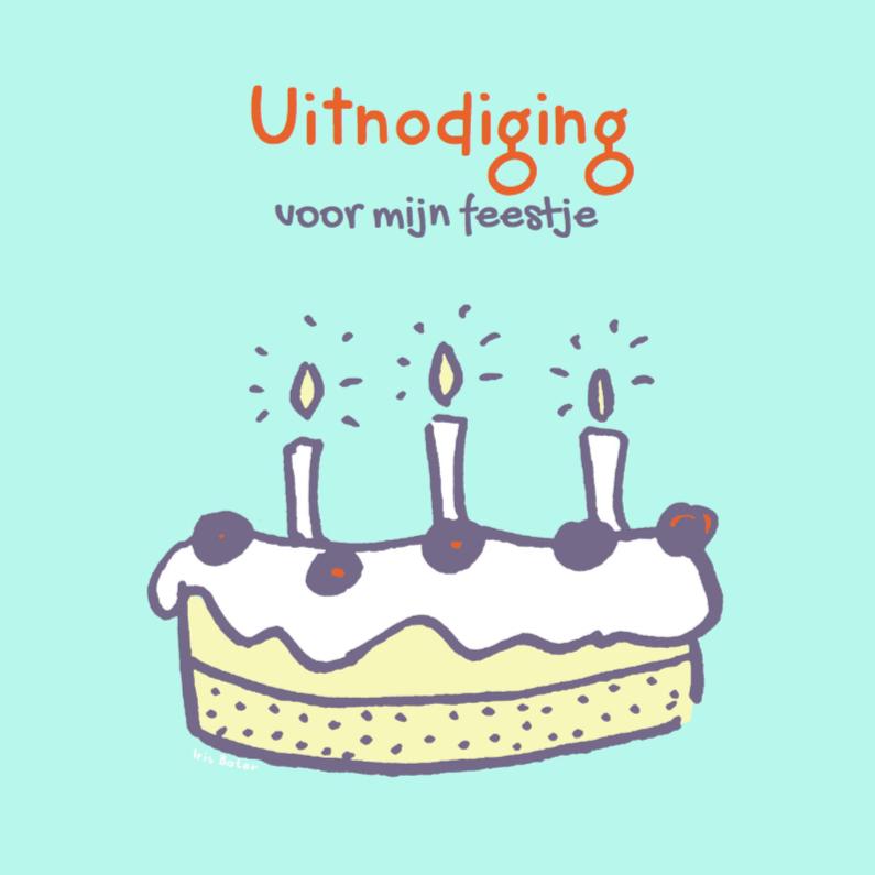 Felicitatiekaarten - Een taart op een kaart!